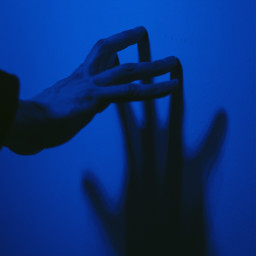 pccontrasts contrasts hand shadow neon freetoedit