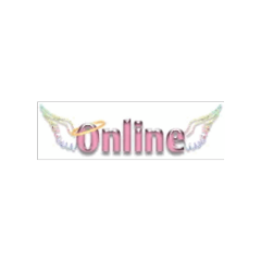 pink online angel webcore aesthetic