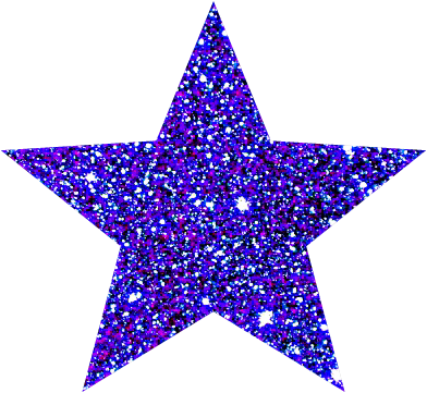 Star Tumblr Original Remix Sticker Glitterviolet Purple