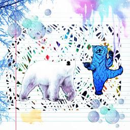 freetoedit polarbears