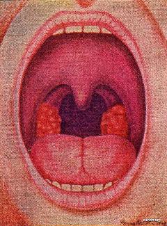 interesting strange mouth open scream freetoedit