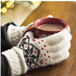 freetoedit gloves cozy warm holidays