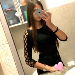 freetoedit blackoutfit black bathroom restroom