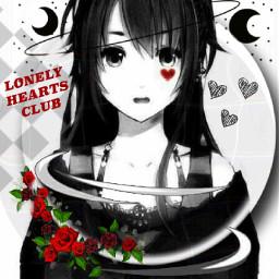 animegirl anime girl aesthetic red freetoedit
