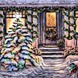 freetoedit steampunkangel wreath