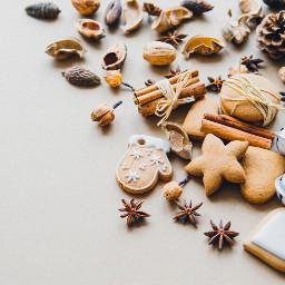 cookies christmas food freetoedit