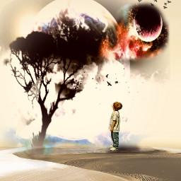 freetoedit myedit boy lanet tree