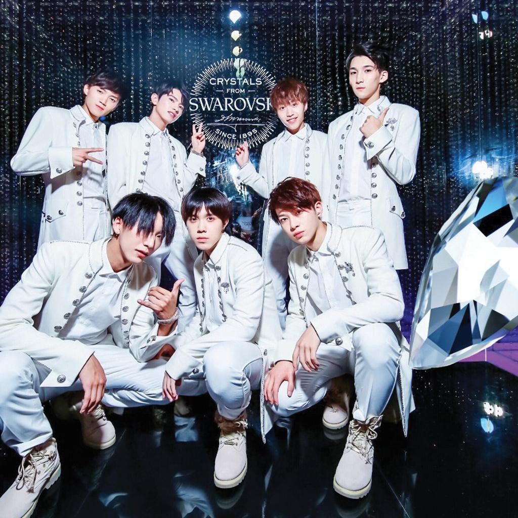 Korean band with Swarovski crystals