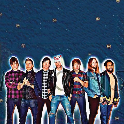 Maroon 5 magic effect photo