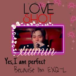 freetoedit exo love-shot xiumin kpop