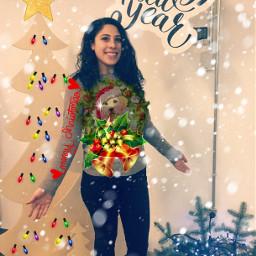 ecchristmassweater christmassweater freetoedit merrychristmas merryxmas