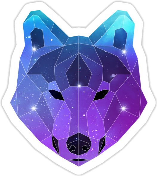 Transparent Background Aesthetic Png Wolf Logo
