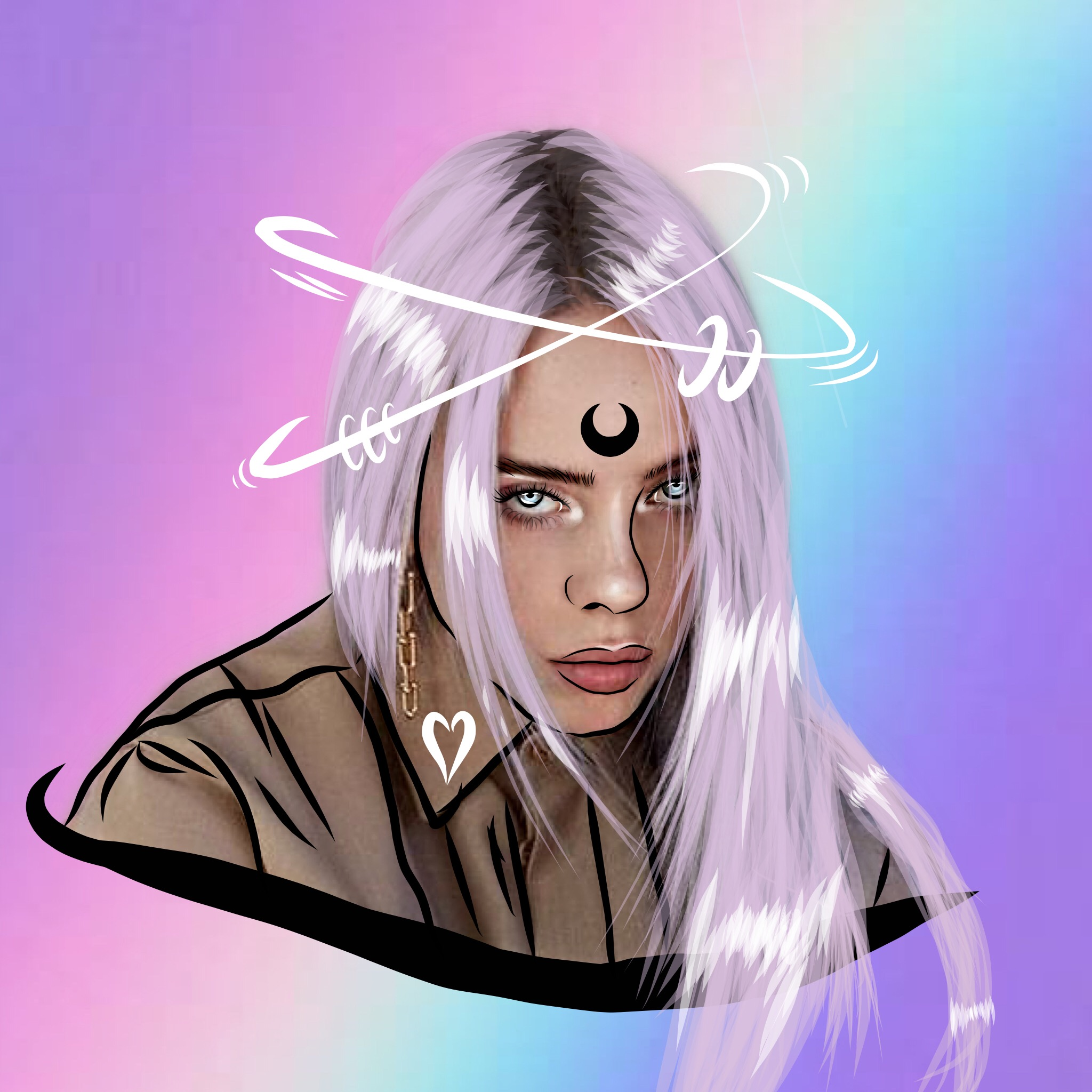 Billy Eilish #billieelish #billieeilishedit #art #draw #drawing #outline #outlines #outlineaesthetics #outlinesart #outlined #outline-draws #drawsoutlined