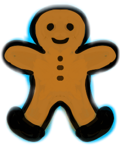 autodesksketchbook gingerbreadman holiday holidays christmas freetoedit