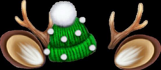 christmasiscoming antlers deerantlers overlay uglysweaters freetoedit
