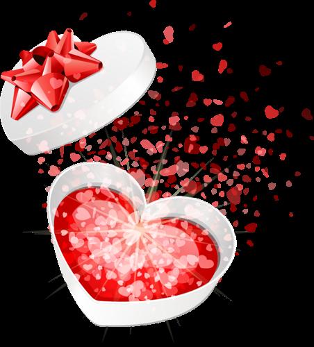 #heart #present #love #sparkle #gift #red #ftestickers #burst