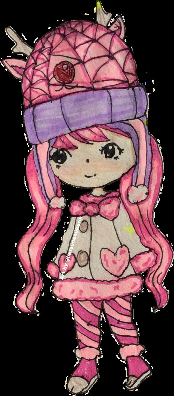 #art #traditionalart #traditionaldrawing #kawaii #chibi #chibigirl #anime #animegirl #qt #cute #ftestickers #drawingbyme #myart #sticker #picsart #picsartist #freetoedit