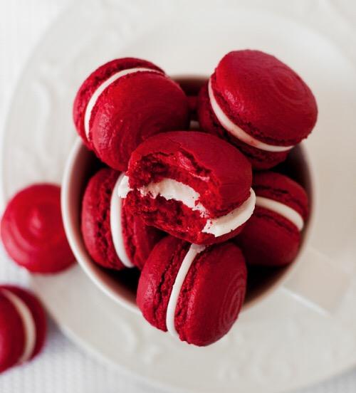 #macaroons #red #macaroon #tumblr