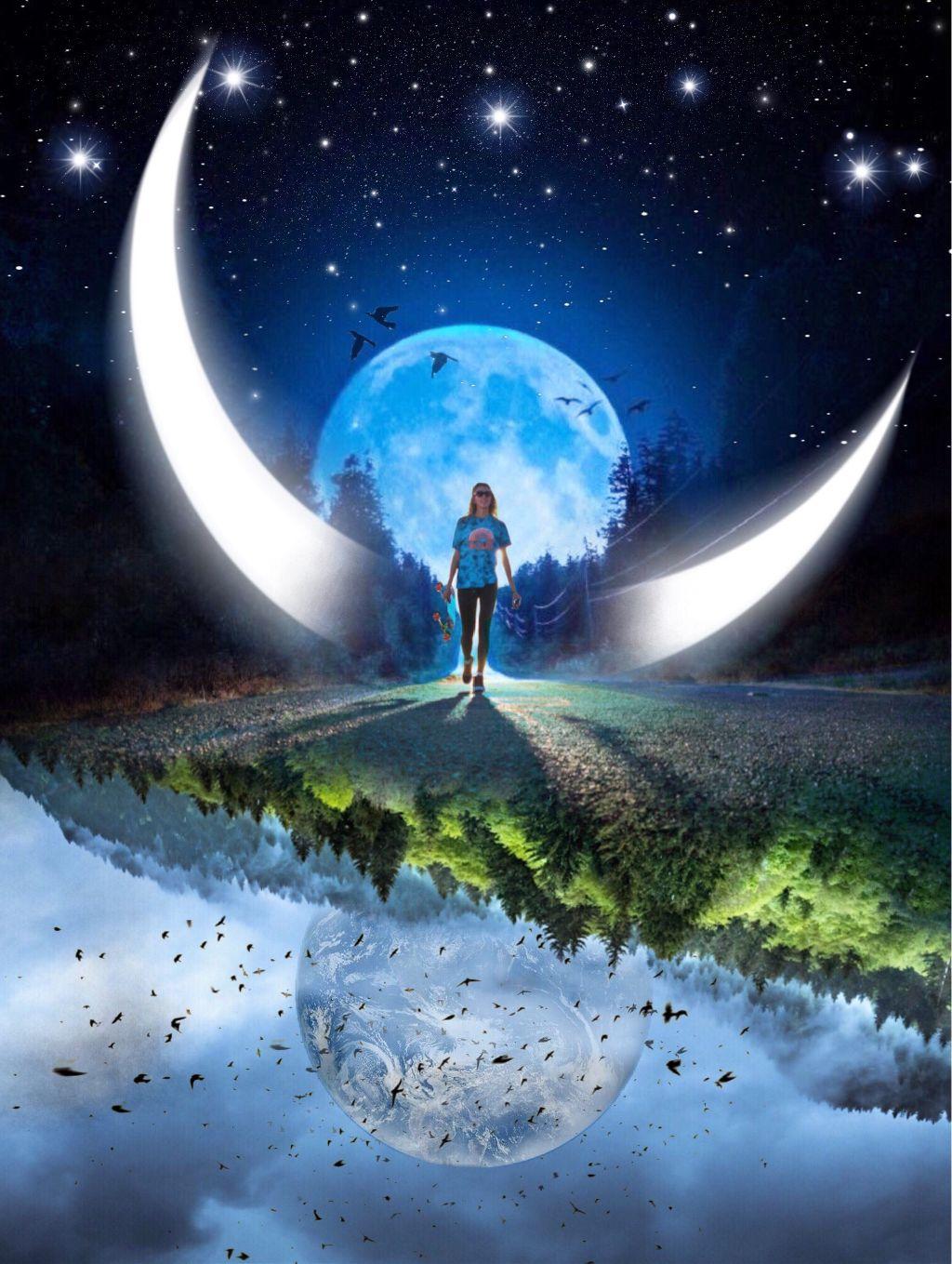 #freetoedit #edit #edited #surreal #myedit #moon