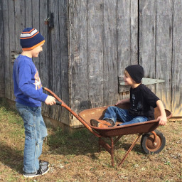 pctheworldaroundme theworldaroundme ourfarm barns wheelbarrow
