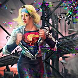 freetoedit supergirl trouble seagulls smartblureffect