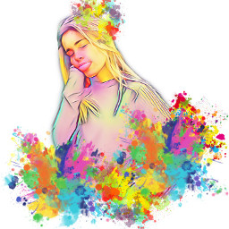 freetoedit splashcolor splash portrait likes