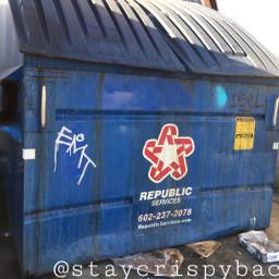 emt tagging graffiti dumpster glendale