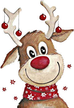 reindeer scarf christmas ornaments freetoedit