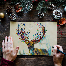 ircchristmascard christmascard freetoedit