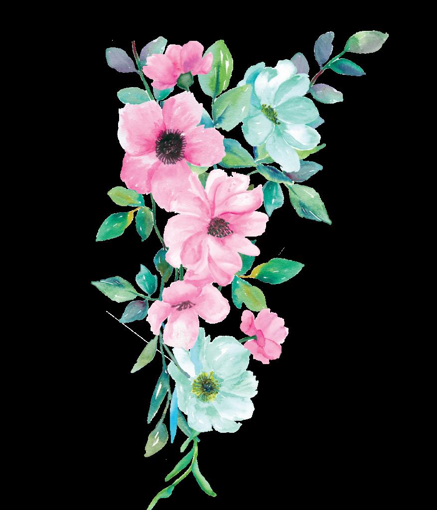 freetoedit ftestickers watercolor flowers floral pink...
