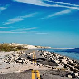 beach road nature desolate erosion pcthebestplace pcdaylight daylight pcroads