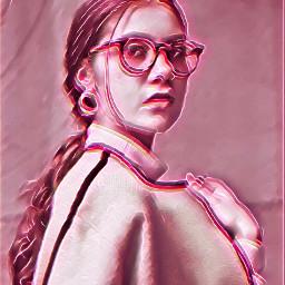 freetoedit pink glitch