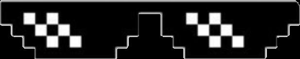 glasses tumblr emoji pixelart overlay freetoedit
