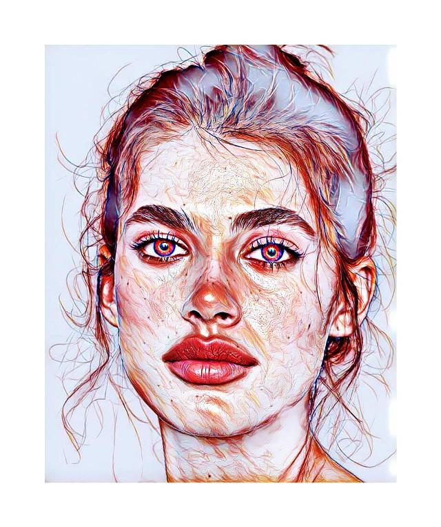 #freetoedit #girlpower #girl #portrait #magiceffects #magic #magicselfie #madewithpicsart #be_creative
