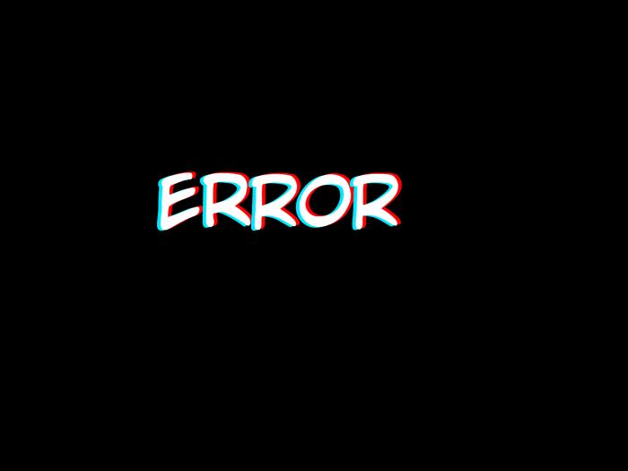 #stickers #png #inscription #text #3D #error #надпись #текст