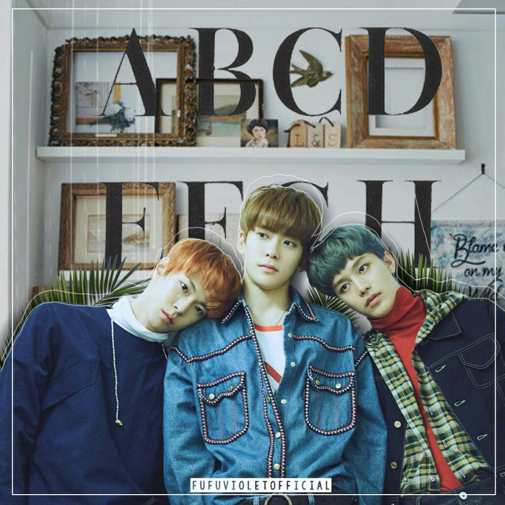 Cause can't live without you~ JAEHYUN-TAEIL-DOYOUNG • •