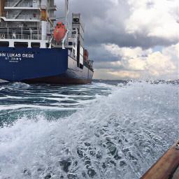 sea wave travel transportation pcship pcfoam freetoedit