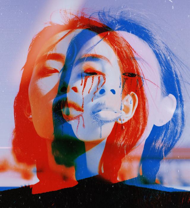 #freetoedit #glitter #glittertears #1991 #glitch #glitcheffect #ecfiercewomen