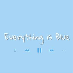 bluetheme everythingisblue lyric colors halsey freetoedit