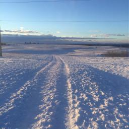 pcsnow snow photography nature remixit