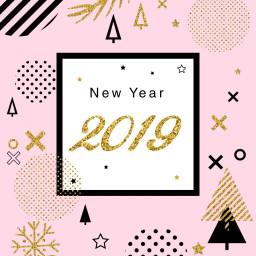 newyear happynewyear 2019 nye2019 freetoedit