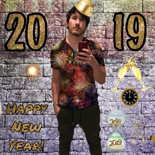 #newyear #2019 #newyearseve #party #art #bye2018