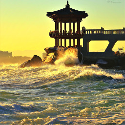 sea southkore sokcho travel sunrise