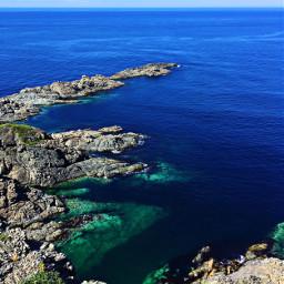 freetoedit sea atlantic blue newfoundland