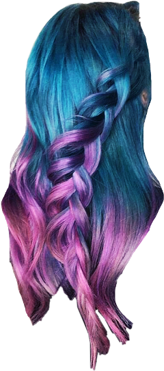 colorfulhair bluehair pinkhair colorfulwig cabelocolorido
