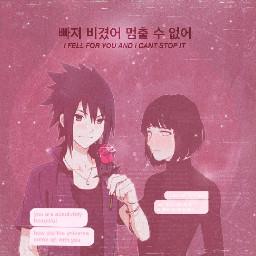 sasuhina aesthetic tumblr hinata sasuke freetoedit