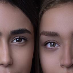 girls girl people face eyes freetoedit