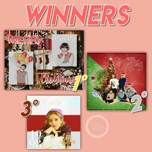 #marshmallowchristmascontest winners~  1st p: @_blue_mold_  2nd p: @joonieedits  3rd p: @namimoo   Thanks y'all for participating~ I have loved all your edits and choose one, it has been really difficult 😂 Thank you💕  #freetoedit #kpop #femalegroup #malegroup #bts #got7 #exo #blackpink #mamamoo #twice #gfriend #sf9 #wannaone #ioi