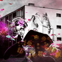 freetoedit geisha graffiti dope