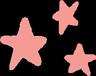 pink coral stars pinkstars freetoedit